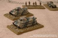 British Matilda tanks