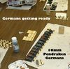 German vehicles on the production line. (10mm scale)