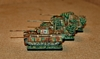 Panther tanks by Dave Fowler (10mm scale)