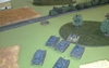 Polish armoured train in action (15mm scale)