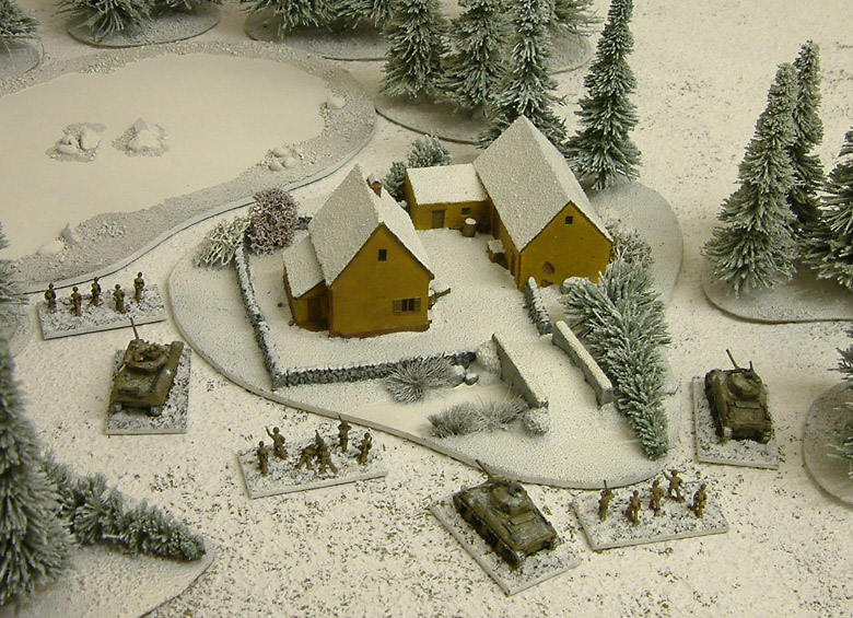 Americans advance through the Ardennes, Winter 1944